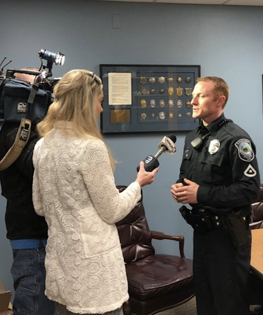 Interviewing Officer Ryan Howe