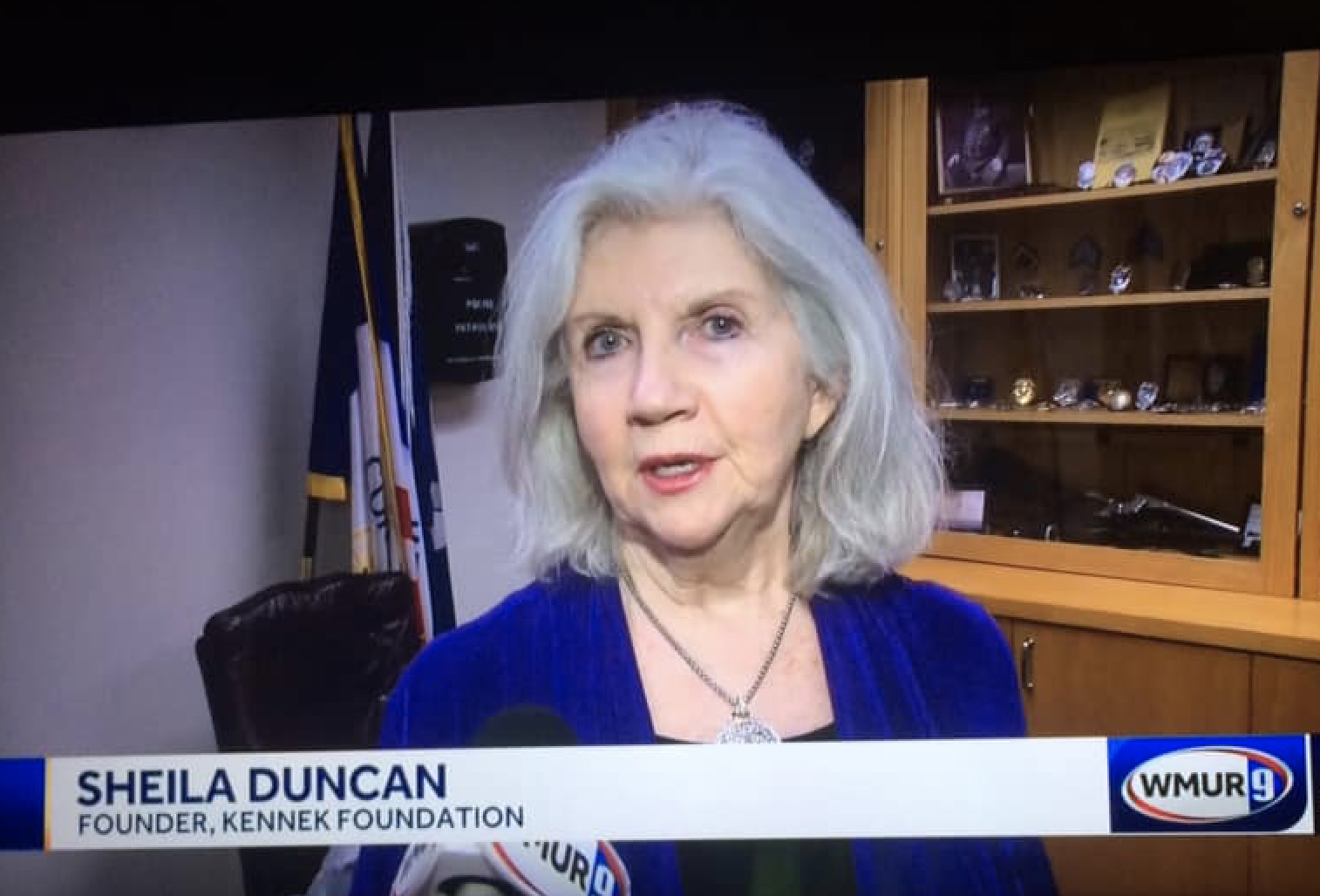 Sheila Duncan on air